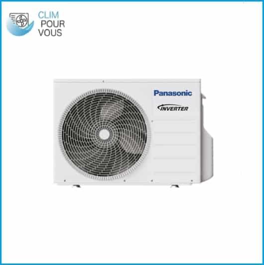 - PANASONIC – Unité extérieure Haute Performance monobloc 7kW WH-MDC09H3E5