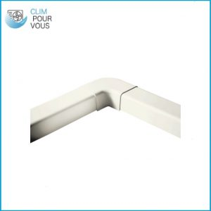 - ARTIPLASTIC - Angle apparent pour goulotte 110/75 1207CP