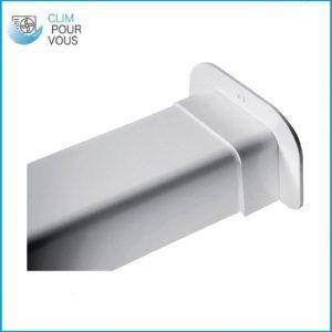 - ARTIPLASTIC - Passage de mur pour goulotte 80/60 0810PM (Copie)