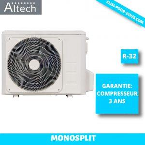 - ALTECH - Unité Extérieure monosplit Série AB 4.8 kW 18HFN8Q