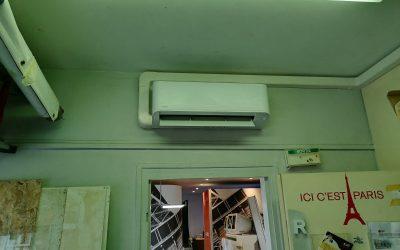 Installation d'un bi-split Toshiba Seyia à Ivry-sur-Seine