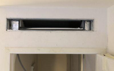 Installation d'un système gainable mono-split de la marque Daikin à Villeneuve-Loubet