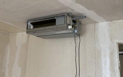Installation climatisation gainable  Toshiba tri-split à Nice