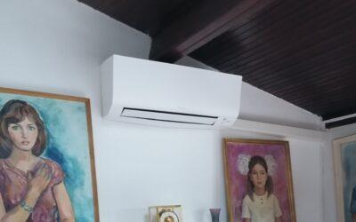 Installation d'un système de climatisation bi-split DAIKIN à Malakoff